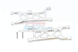 GPM Arrma 1/10 KRATON 4S BLX Upgrade Pièces Aluminium Front Lower Arms – 2Pc Set Silver