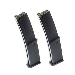 Airsoft Spare Parts 2pcs 40rd Mag Gas Magazine for pour KSC Umarex MP7 Series GBB