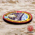 Cobra Tactical Solutions Military Patch APOLLO SOYUZ NASA Motivational Military Patch avec Fermeture Velcro pour Airsoft/Paintball pour vêtements Tactiques et Sac à Dos