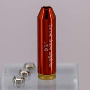 MAYMOC calibre 308 Cartouche Laser Bore Sighter simbleautage