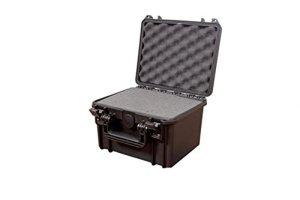 Plastica panaro Malette MAX235H155 IP67 – Valve – Noir Malette de transport Noir