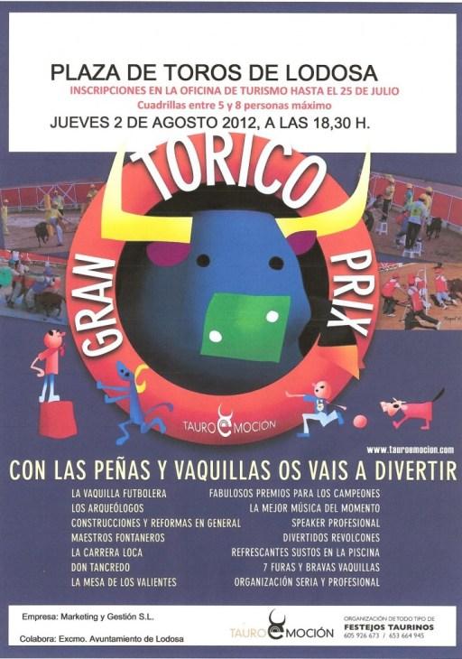 Gran Prix Lodosa Jueves 2 Agosto