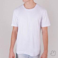 Camiseta Básica Branca em Algodão Premium - Loja Nerd