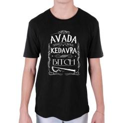 Camiseta Avada Kedavra, Bitch! - Loja Nerd