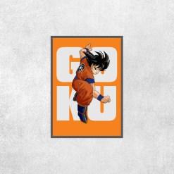 Placa Decorativa DBZ - Goku - Loja Nerd