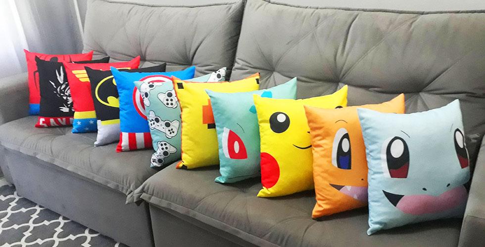 Almofadas Geeks Decorativas Loja Nerd