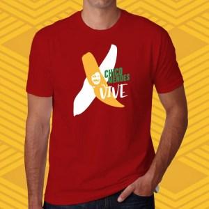 Camiseta Vermelha Chico Mendes