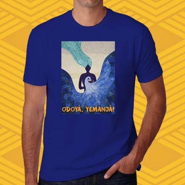 Camiseta Yemanjá