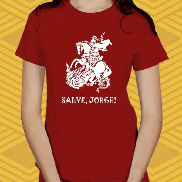 Camiseta Salve, Jorge! Baby Look
