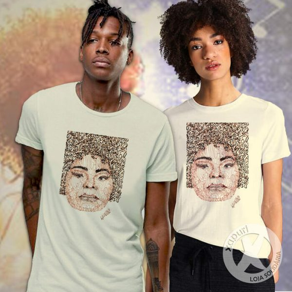 Camiseta Elza Soares