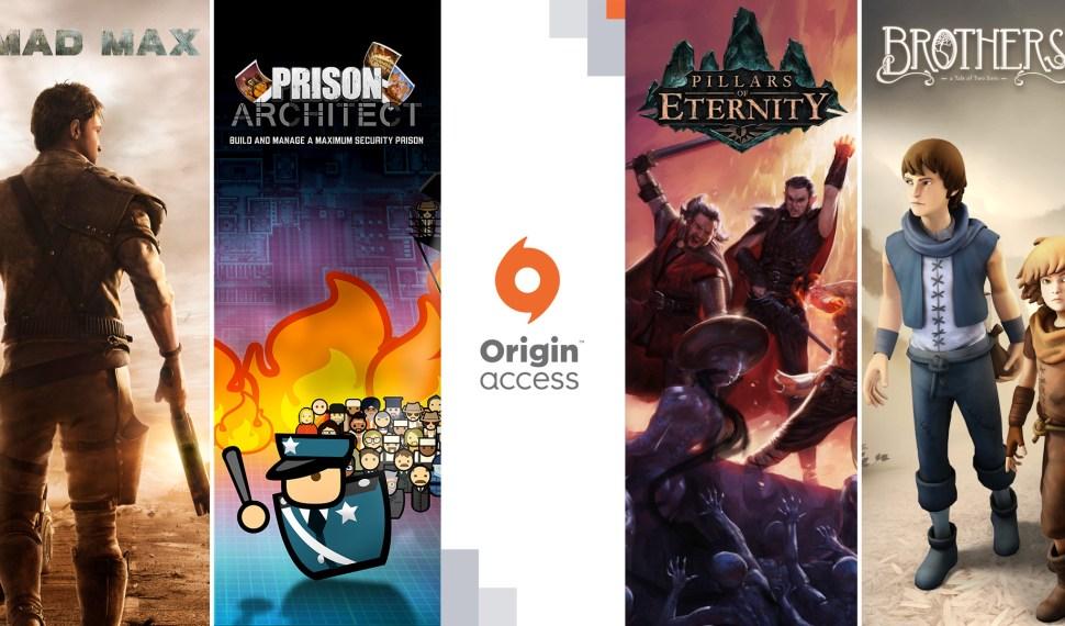 Origin Access recibe nuevos titulos