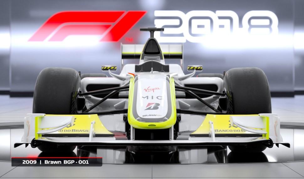 El MÍTICO BRAWN GP DE 2009 ANUNCIADO PARA F1 2018