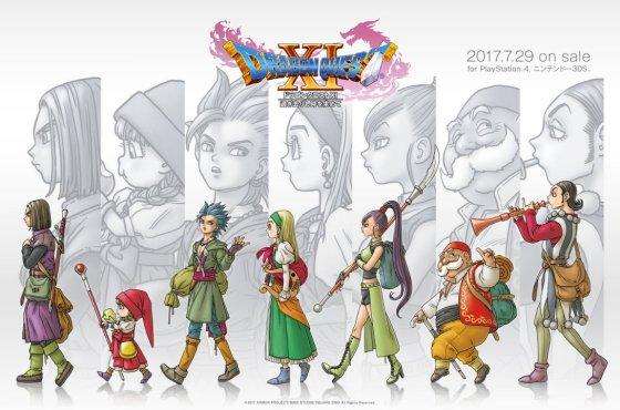 Diferencias entre version Japonesa y Occidental de Dragon Quest XI
