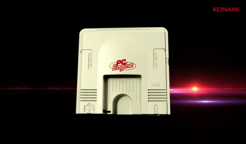 Konami anuncia Pc Engine Core Grafx Mini