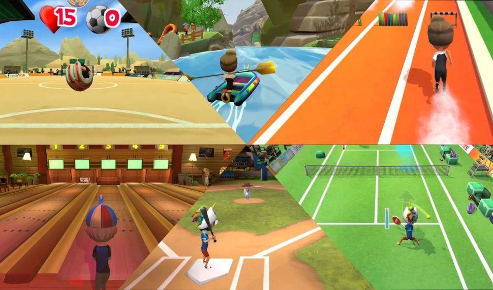 Instant Sports llega a Switch para disfrutar con toda la familia