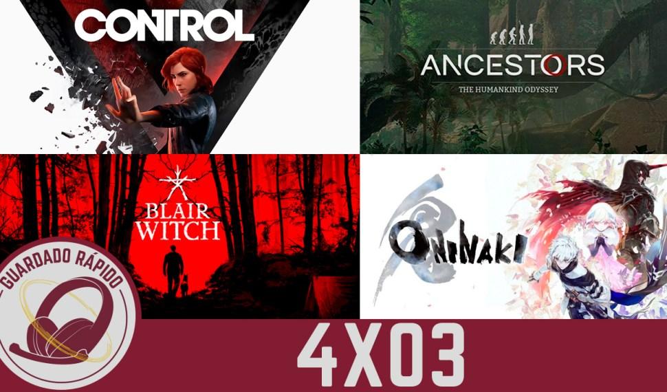 GR (4×03) El Boom de Switch, Blair Witch, Control, Ancestors y Oninaki