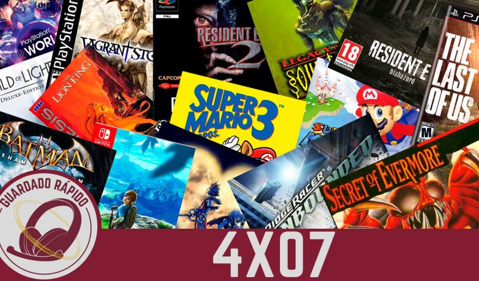 GR (4×07) Los juegos que han marcado nuestra vida (FF VII, The Last of Us, Resident Evil y más)
