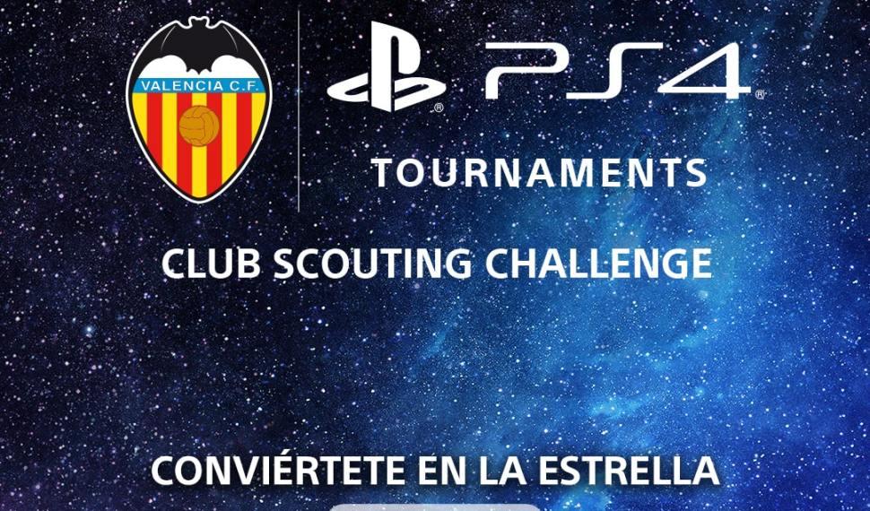 Valencia C.F busca a su próximo jugador profesional de FIFA 20 con el Club Scouting Challenge de Torneos PS4
