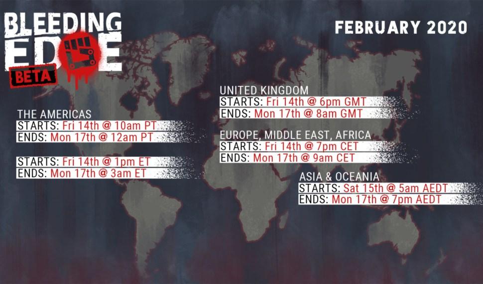 Bleeding Edge: todo lo que debes saber sobre la beta cerrada (14-17 de febrero)