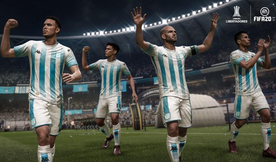 FIFA 20 presento la Conmebol Libertadores (Gameplay)