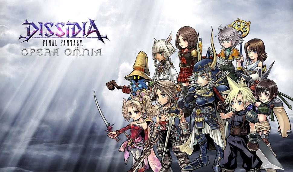 El festival de primavera llega Dissidia Final Fantasy Opera Omnia