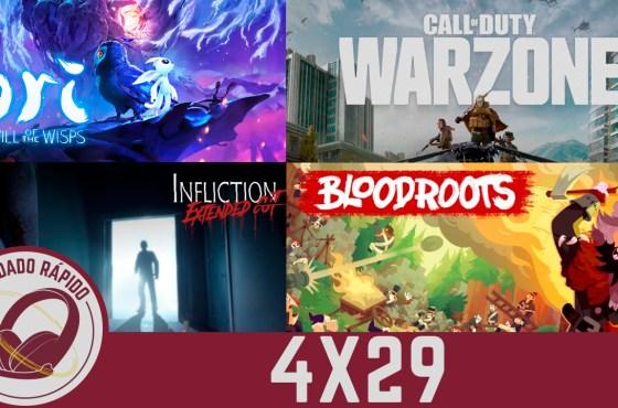 GR (4X29) Un año sin E3, The Witcher 4, Warzone, Ori 2, Infliction, Bloodroots y Juegos para la cuarentena
