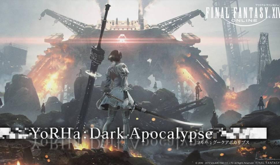 Vuelve el crossover con Nier a Final Fantasy XIV: Shadowbringers