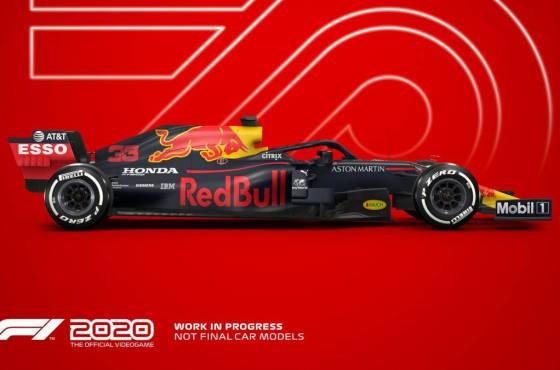 Anuncio de TV del F1 2020