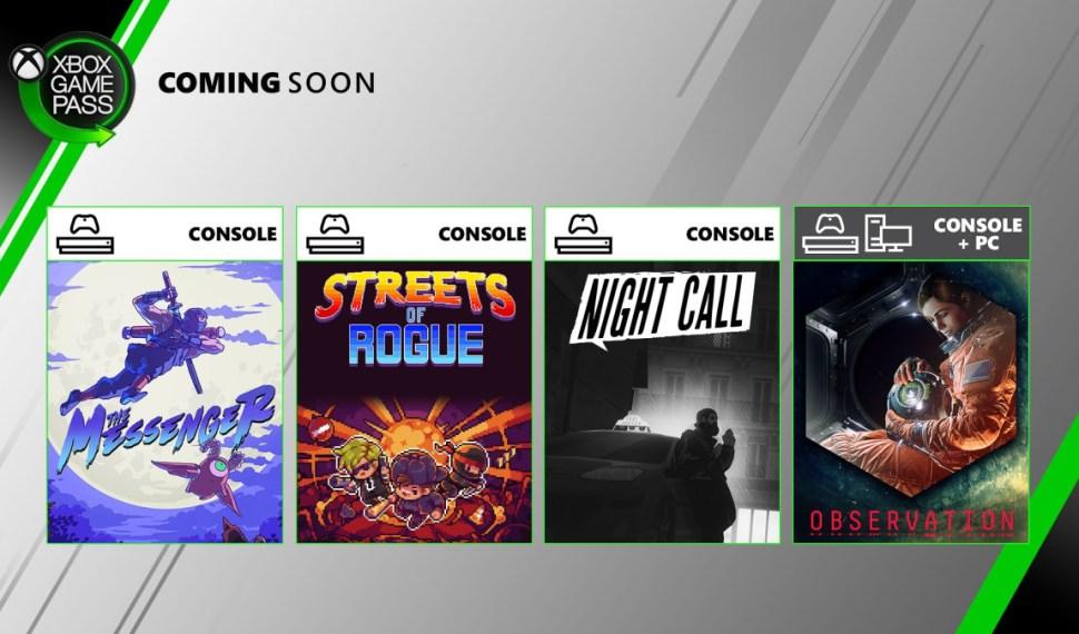 Los juegos que llegan a Game Pass en Junio