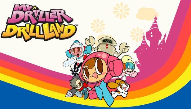 Mr. Driller DrillLand ya disponible en Nintendo Switch y Steam