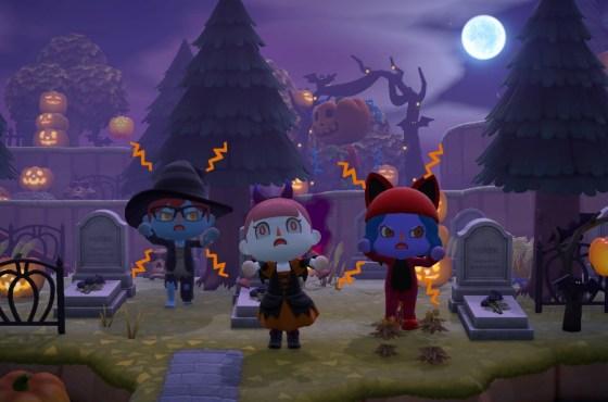 Animal Crossing: New Horizons se prepara para Halloween