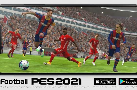 Konami ha anunciado hoy que eFootball PES 2021 Mobile