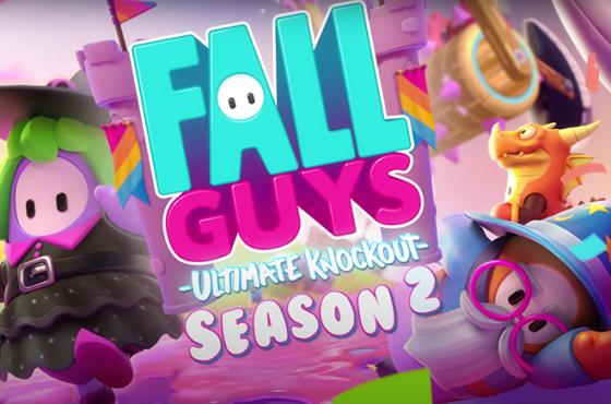 La Segunda Temporada de Fall Guys Se Lanza a un Mundo Medieval