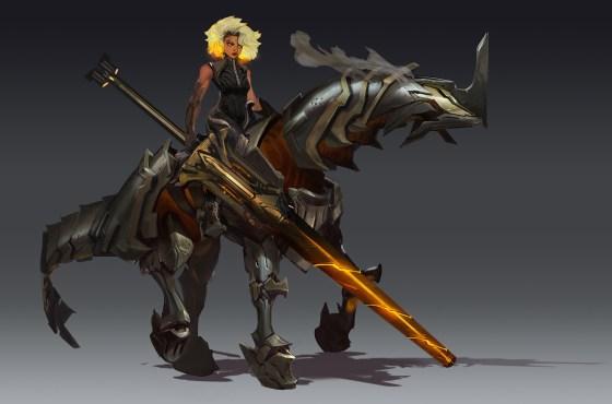 Riot Games presenta a la próxima campeona de League of Legends: Rell