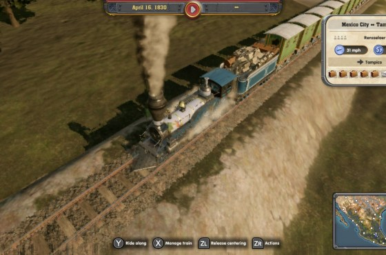 Railway Empire para Switch recibe dos nuevas expansiones
