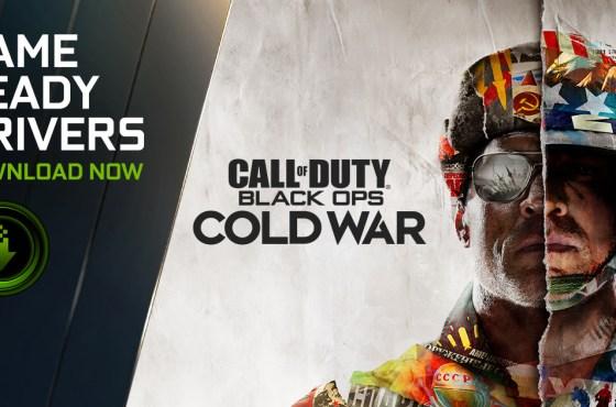 NVIDIA lanza nuevos controladores para Call of Duty: Black Ops Cold War