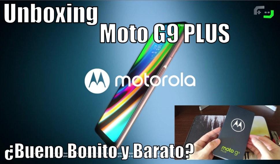 Unboxing Moto G9 Plus – ¿Bueno, bonito y barato?