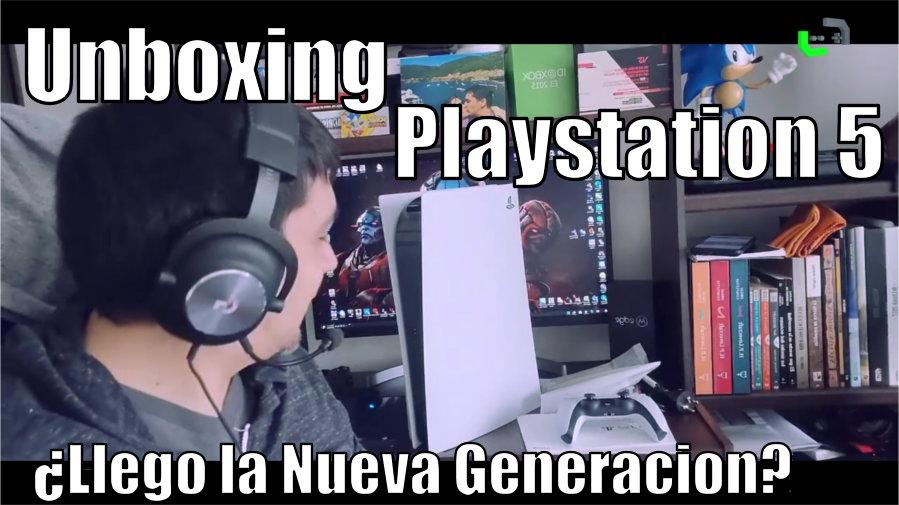Playstation 5 – Unboxing y primeras impresiones