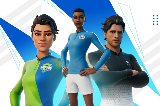 El fútbol cobra vida en Fortnite