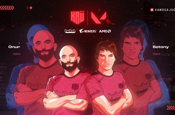 KRÜ Esports presenta a su equipo de VALORANT