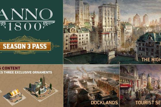Ya disponible el primer DLC de Anno 1800 de la Temporada 3