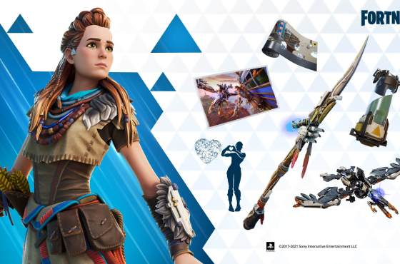 Aloy de Horizon Zero Dawn se une a Fortnite
