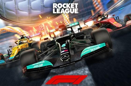 Fórmula 1 llega a Rocket League en su temporada 3