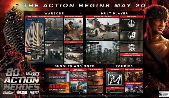Rambo y John McClane hacen su debut en Call of Duty