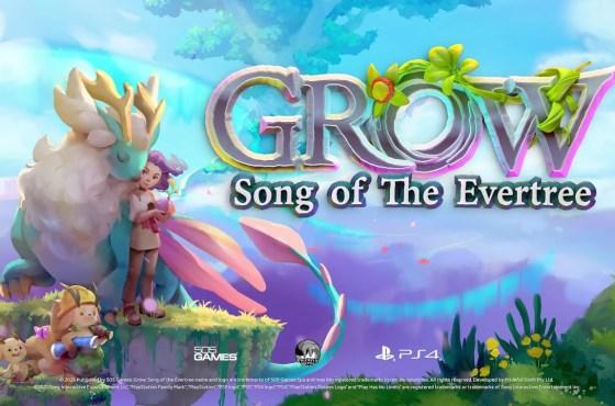 Grow Song of Evertree, anuncio y video