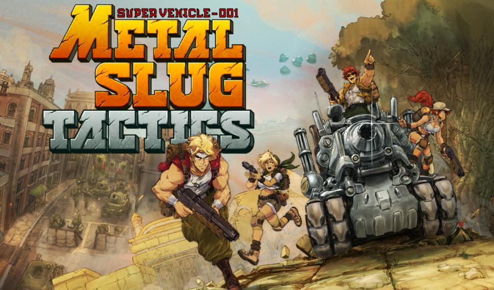 Metal Slug Tactics y llevan a los icónicos héroes de la franquicia a una nueva línea del frente