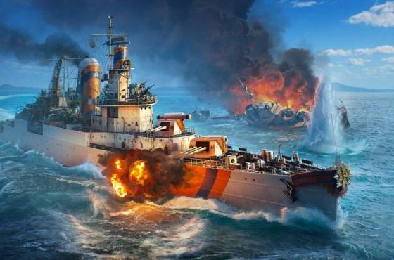 Los Cruceros Holandeses llegan a World of Warships en acceso anticipado