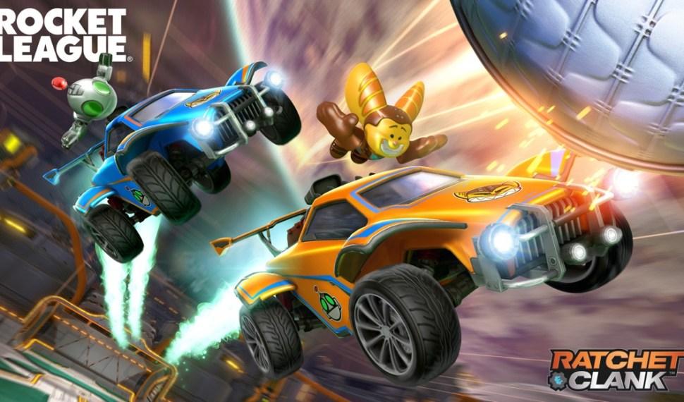 Ratchet & Clank llegan a Rocket League el 18 de Agosto