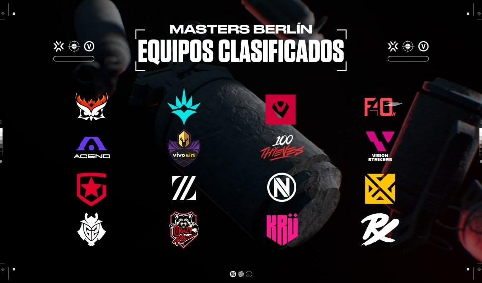 Ya inicia este viernes el VALORANT Masters de Berlín y 16 equipos competirán para ganar el torneo