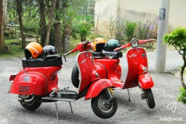 RIde a Vespa in Hulu Langat - See more local experiences at LokaLocal